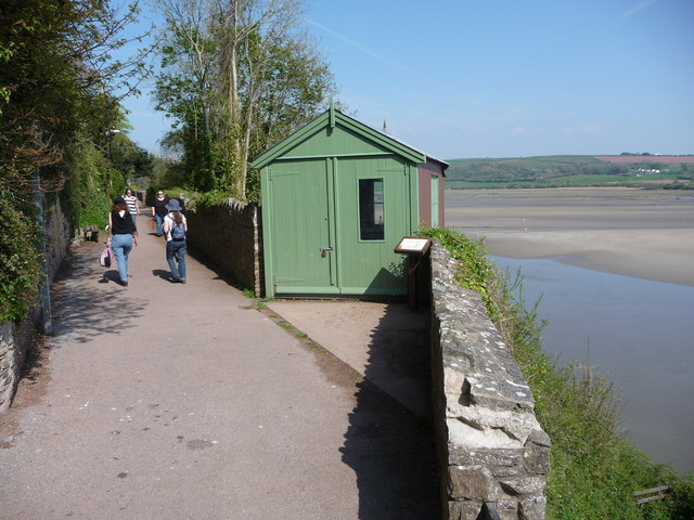 Dylan Thomas' writing shed. Copyright Jeremy Bolwell and licensed for reuse under this Creative Commons Licence